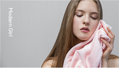 毛巾纯棉吸毛成人女全棉超柔软