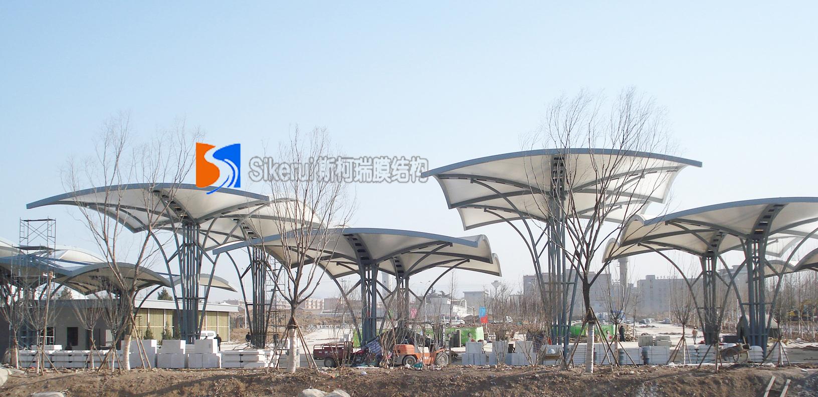 西安世博园膜结构项目