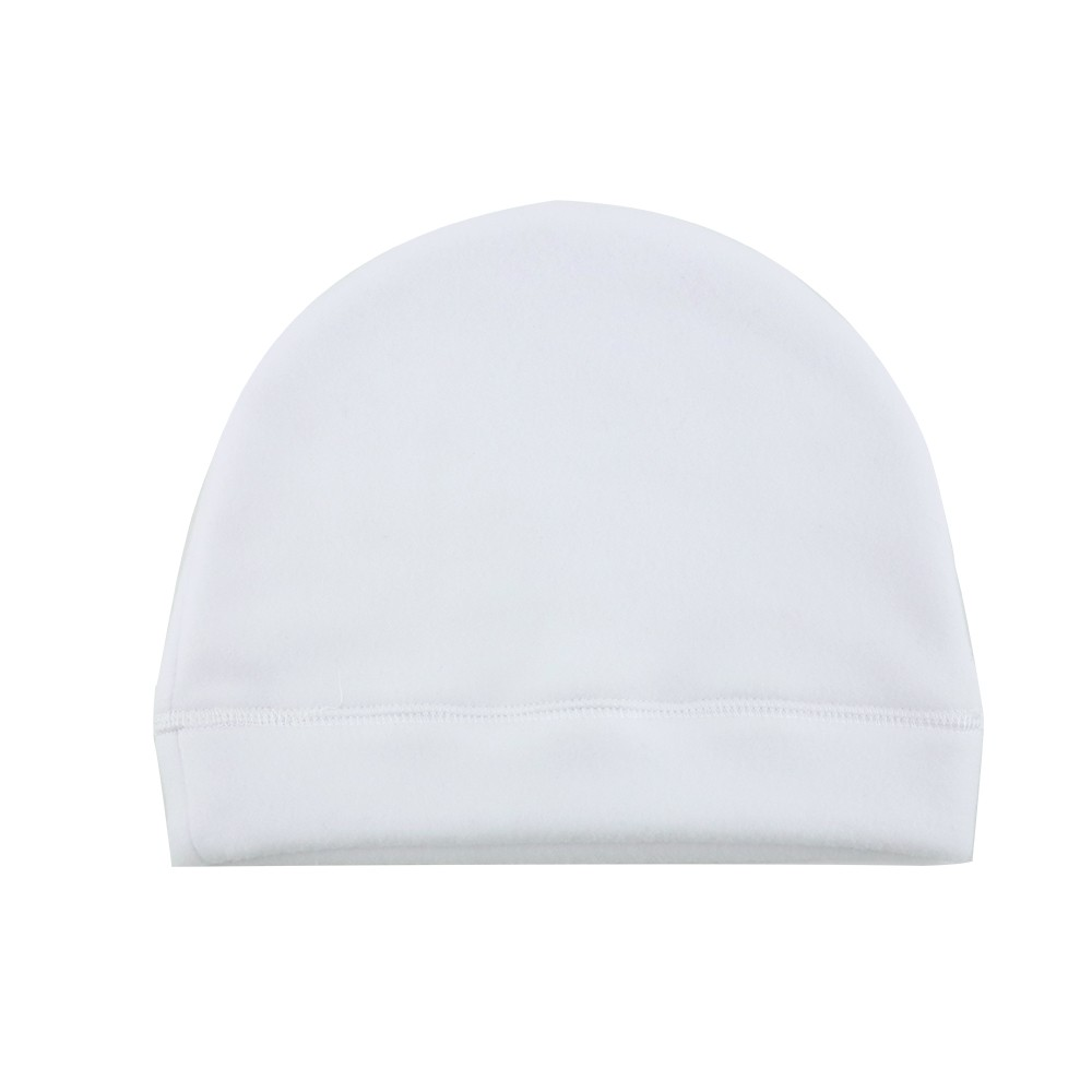 Beanie-Fleece White