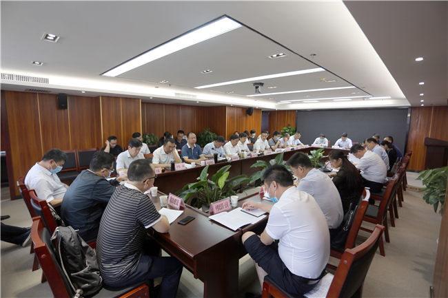 省住建廳組織召開全省建築業企業上半年經濟分析座談會