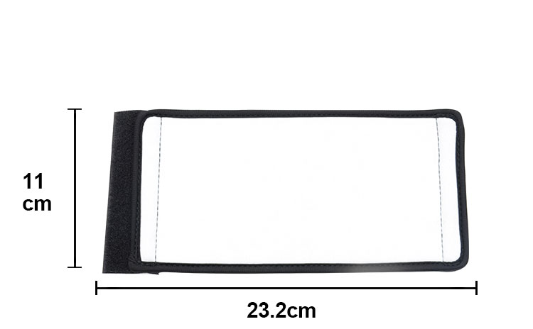 size for Neoprene Can Cooler With Black Edge-11*23.2CM