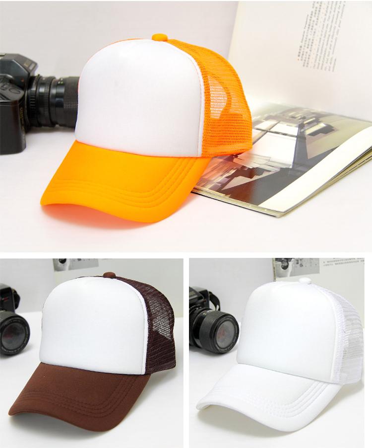 sublimation adult mesh cap