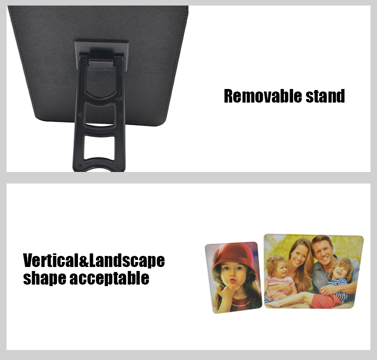 Product details for sublimation PU photo panel
