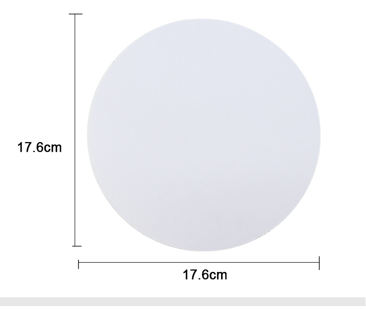 size for sublimation PU mouse pad