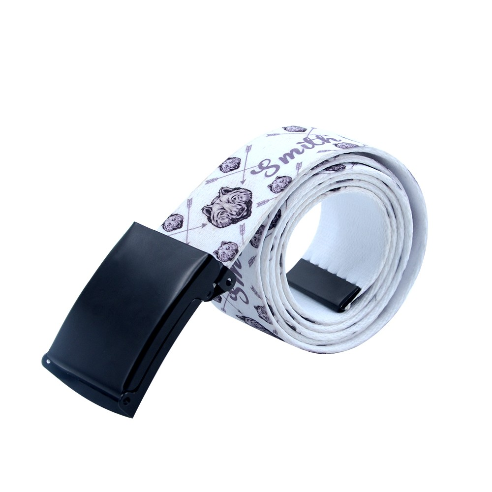 Sublimation Belt 4*120cm -Matt Black