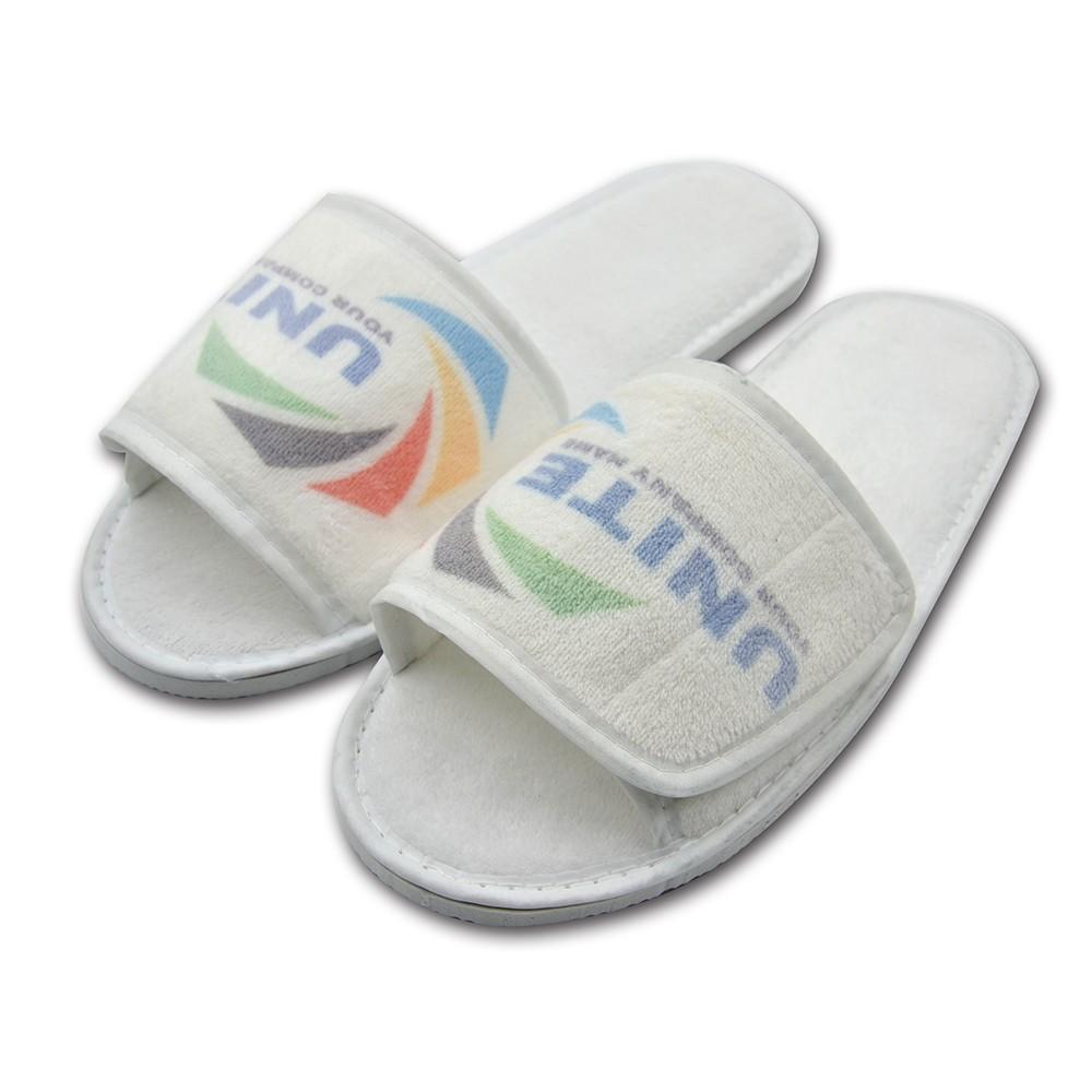 Fabric Slipper - Adjustable Velcro