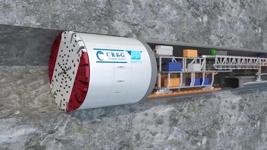 中铁工业联合中铁隧道局在格鲁吉亚打造世界最大TBM工程