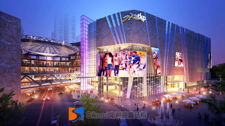昆明同德广场商业膜结构