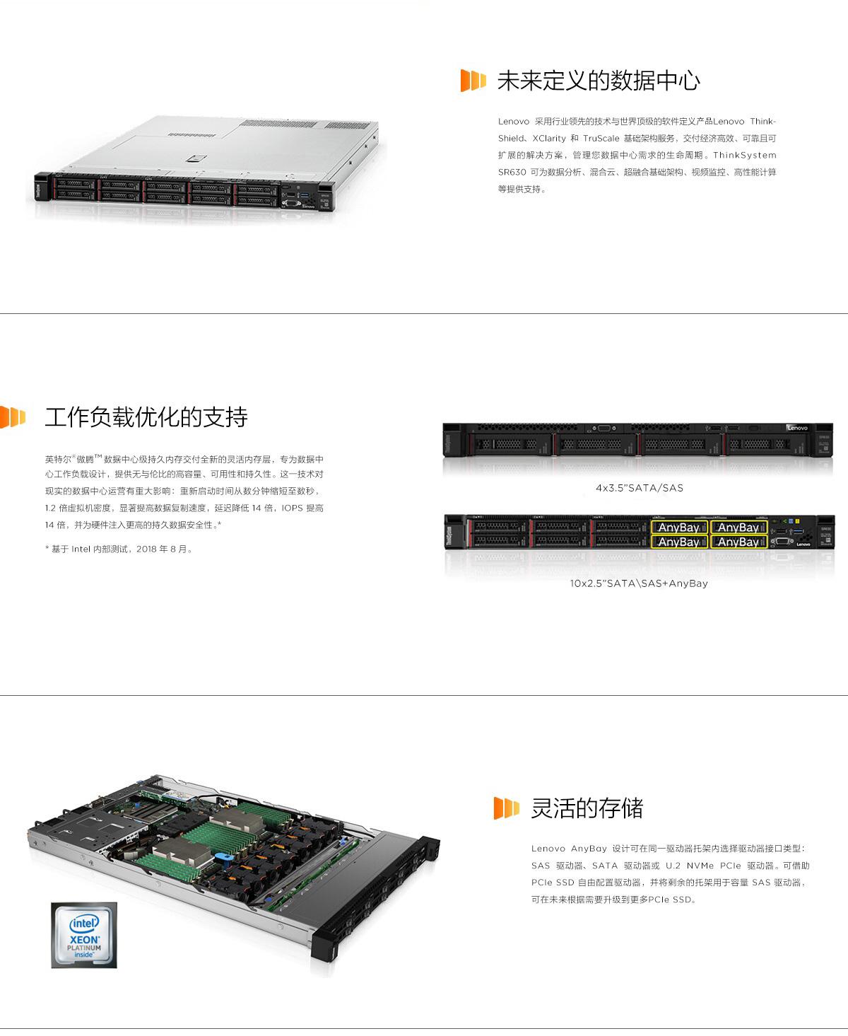 ThinkSystem SR630