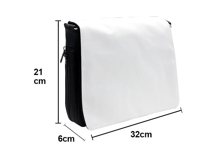 size for sublimation shoulder bag medium