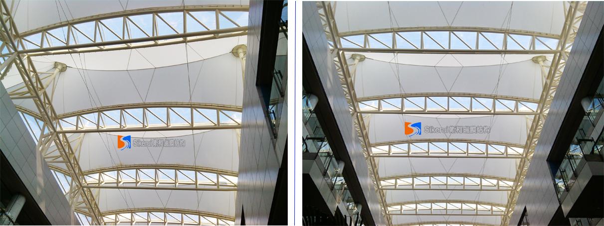 香港大学顶棚膜结构工程