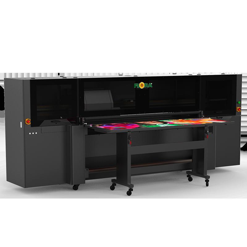 高精度、高速UV 板卷两用喷绘机