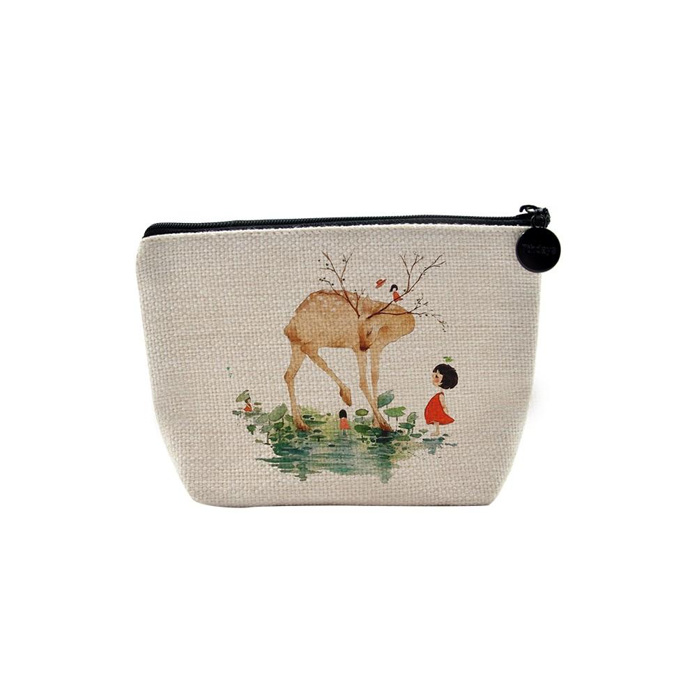 Linen Handbag 10*15cm