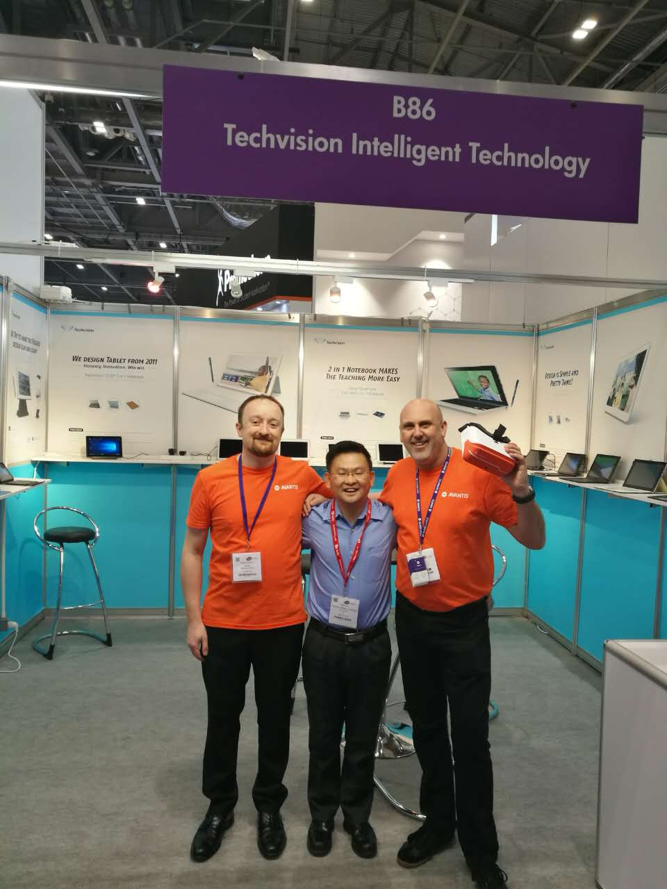 Techvision Strongly strike to British Educational Technology & Equipment Exhibit