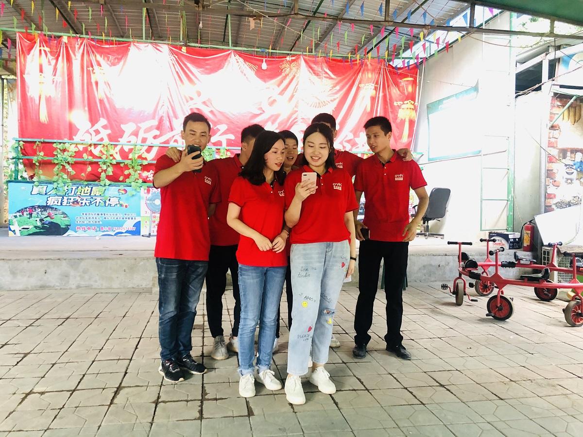深圳东杰首次团建活动--坚定信心,一路前行