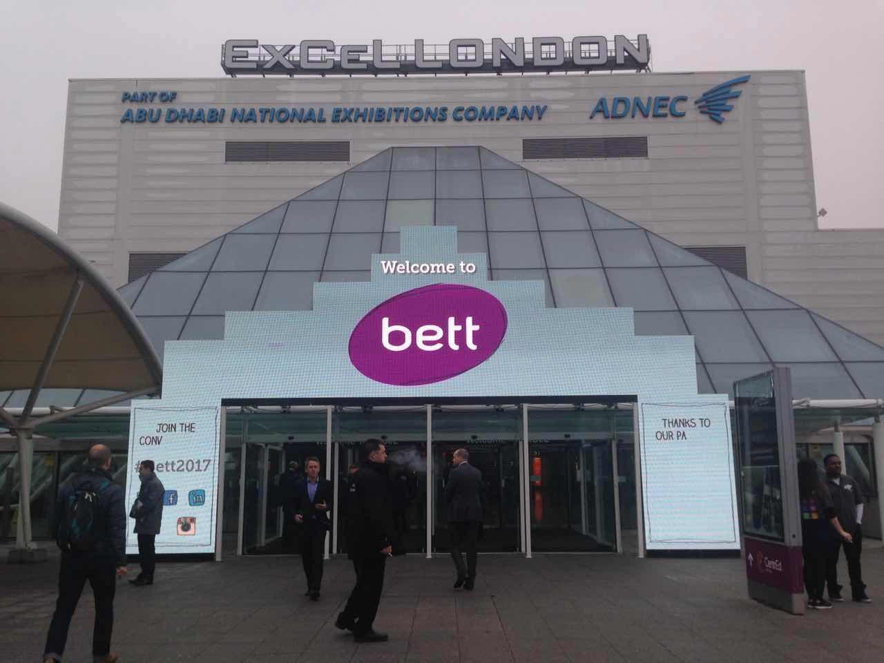 Hi London!-BETT2018英国教育展
