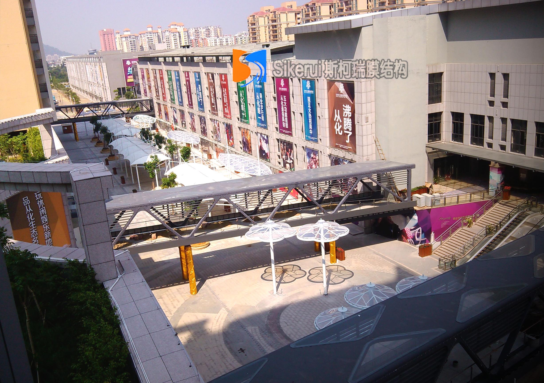 欣荣宏商贸城景观膜结构