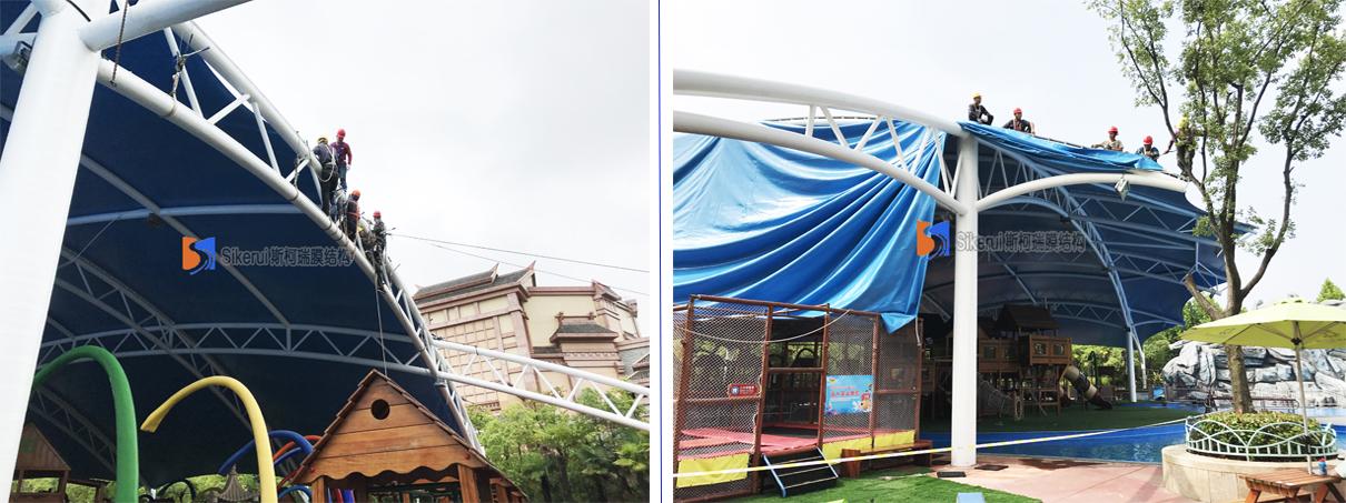 宁波方特乐园水世界膜结构