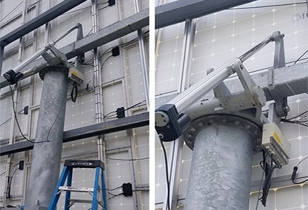 Ukraine Customer-Solar Tracker Linear Actuator U10