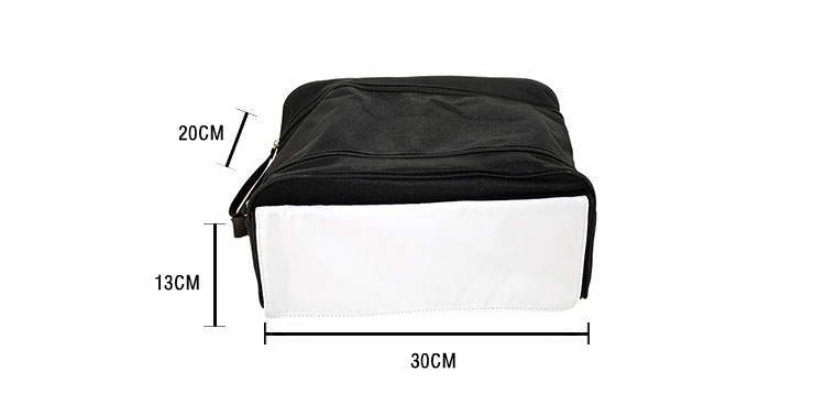 Size for sublimation Bootbag
