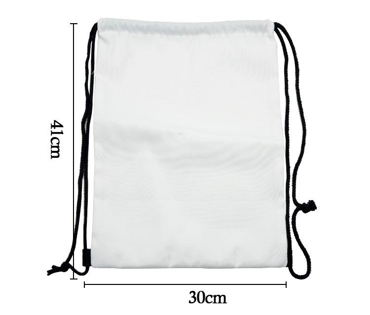 Sublimation Canvas Drawstring String Bag