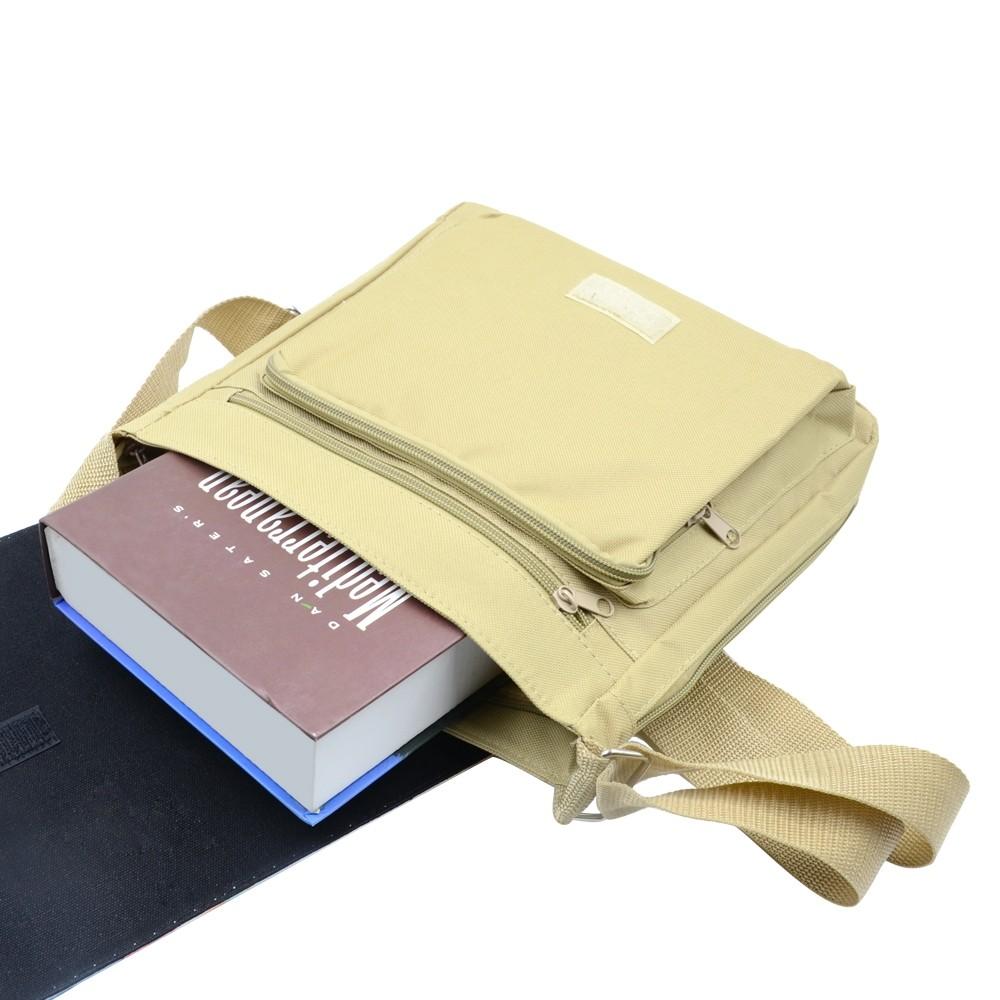 Shoulder Bag-Medium-Beige
