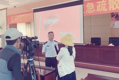 拉萨分中心接受西藏电视台采访
