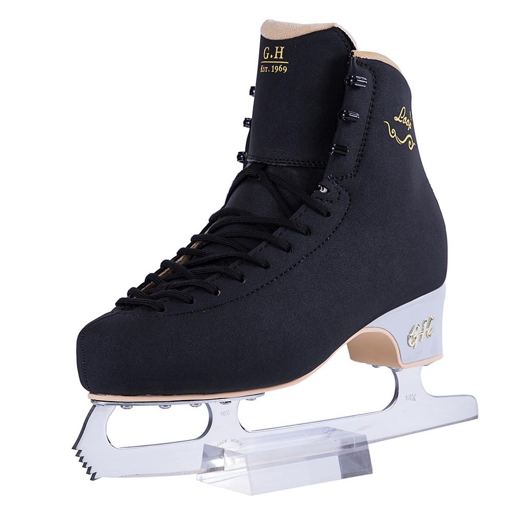 New Loop LT Ice Figure Skates Black