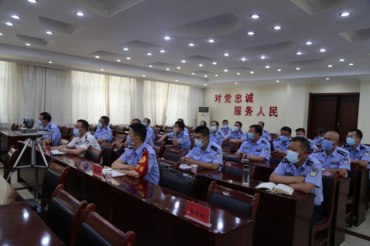 银川分中心助力银川监狱安全生产主题培训