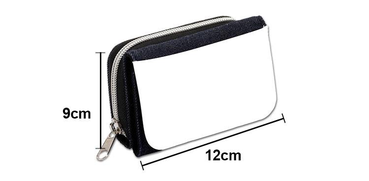 Size for Denim wallet