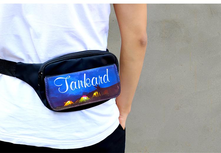 personalised bum bag