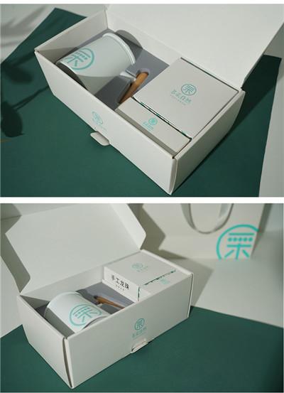 多采自然老白茶龙珠茶具套装礼盒