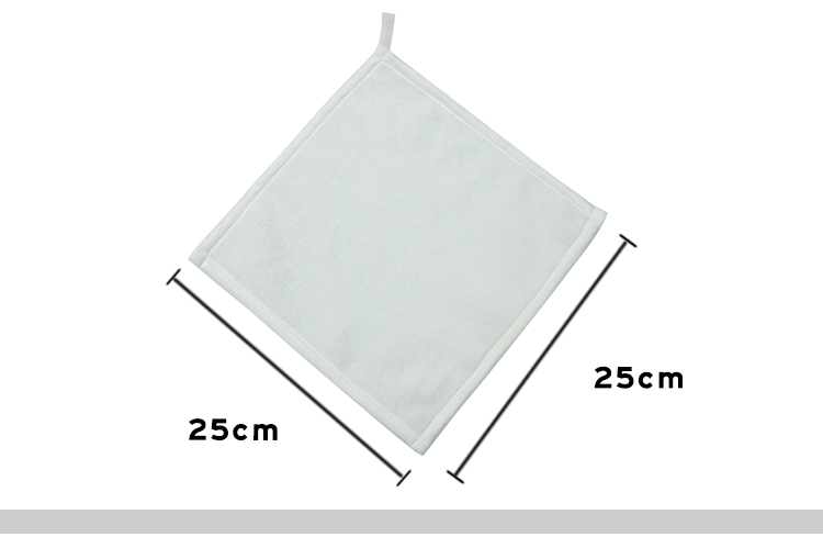 Sublimation Blank facial towel