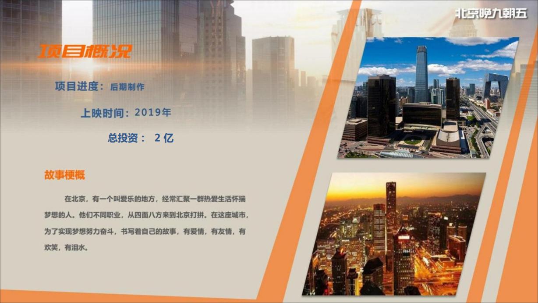 北京晚9朝5