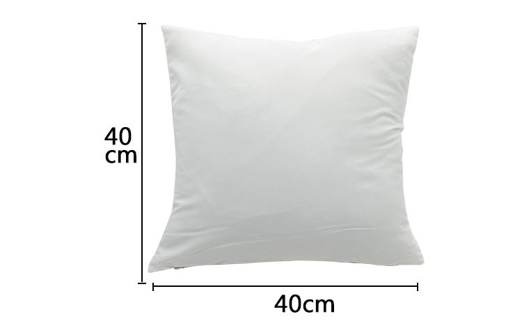 Sublimation Thin Polyester Peach Skin Pillow Case