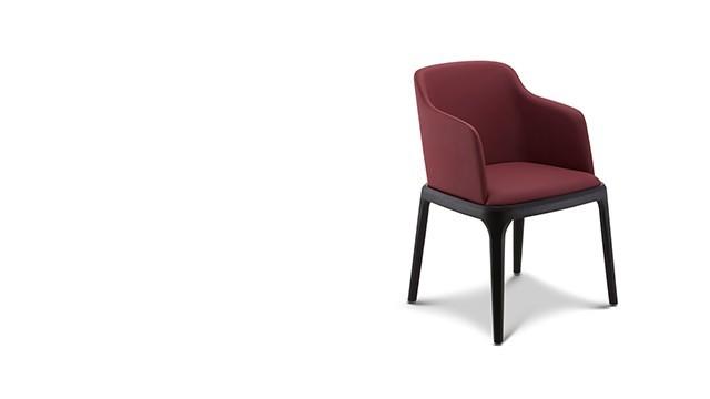 波尔卡扶手椅/餐椅