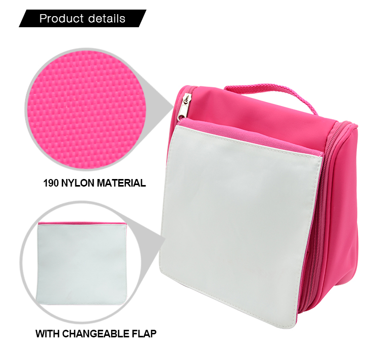 product details for sublimation washing bag