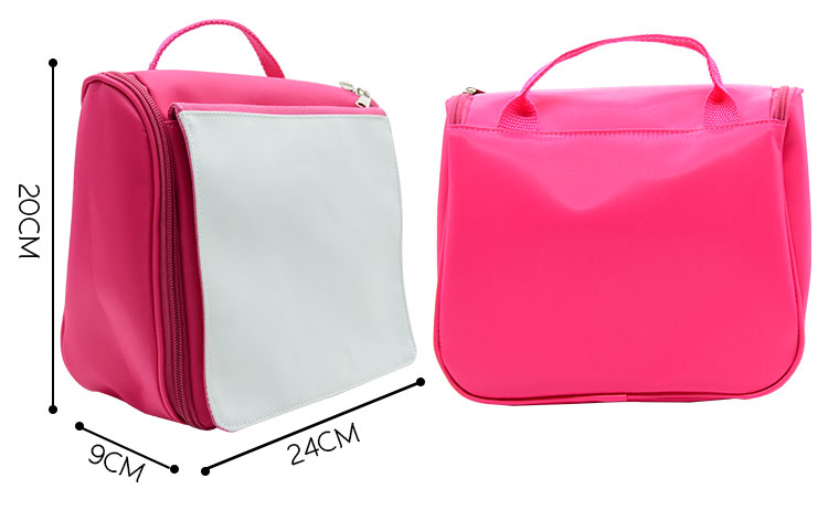 size for sublimation washing bag