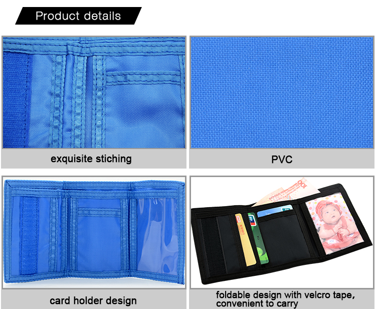Sublimation PVC wallet Details