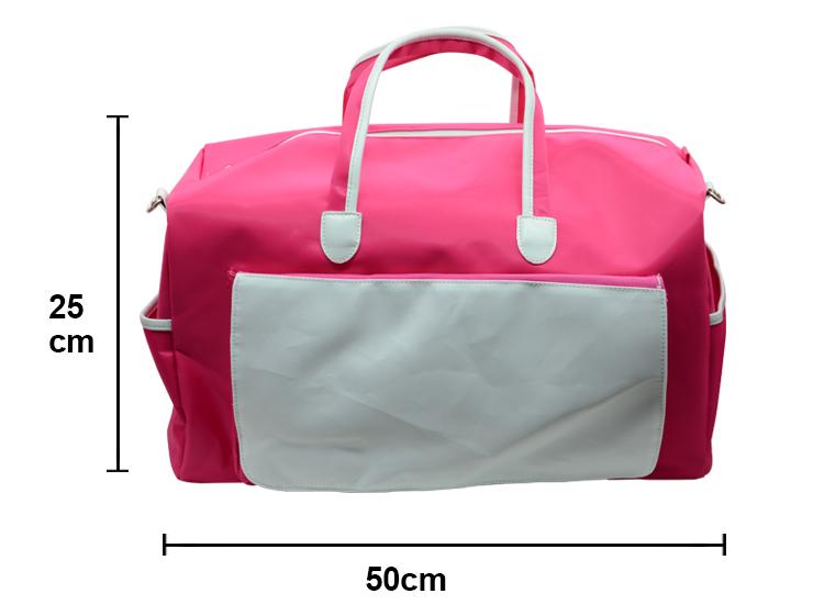 sublimation gym bag