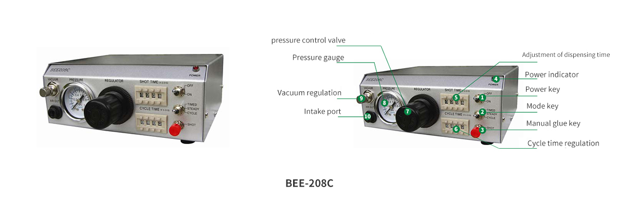 BEE quantitative circulation digital precise dispensing machine