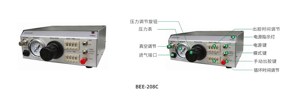 BEE定量循环数码精密点胶机