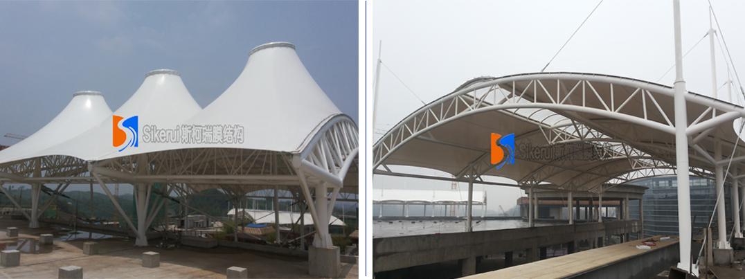 湖南崇盛集团商业中心膜结构