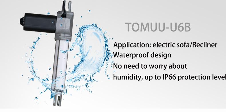 TOMUU- U6B  Furniture Actuator