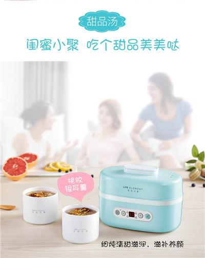 生活元素_电炖盅燕窝煮粥锅