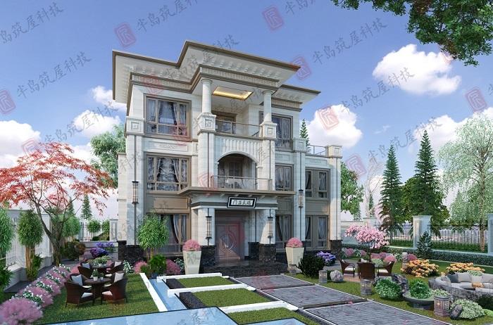 简述不同风格的黄冈自建别墅造价差异