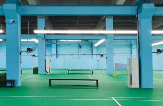 未来深圳羽球的网红打卡圣地,传奇羽毛球馆正式开业了!