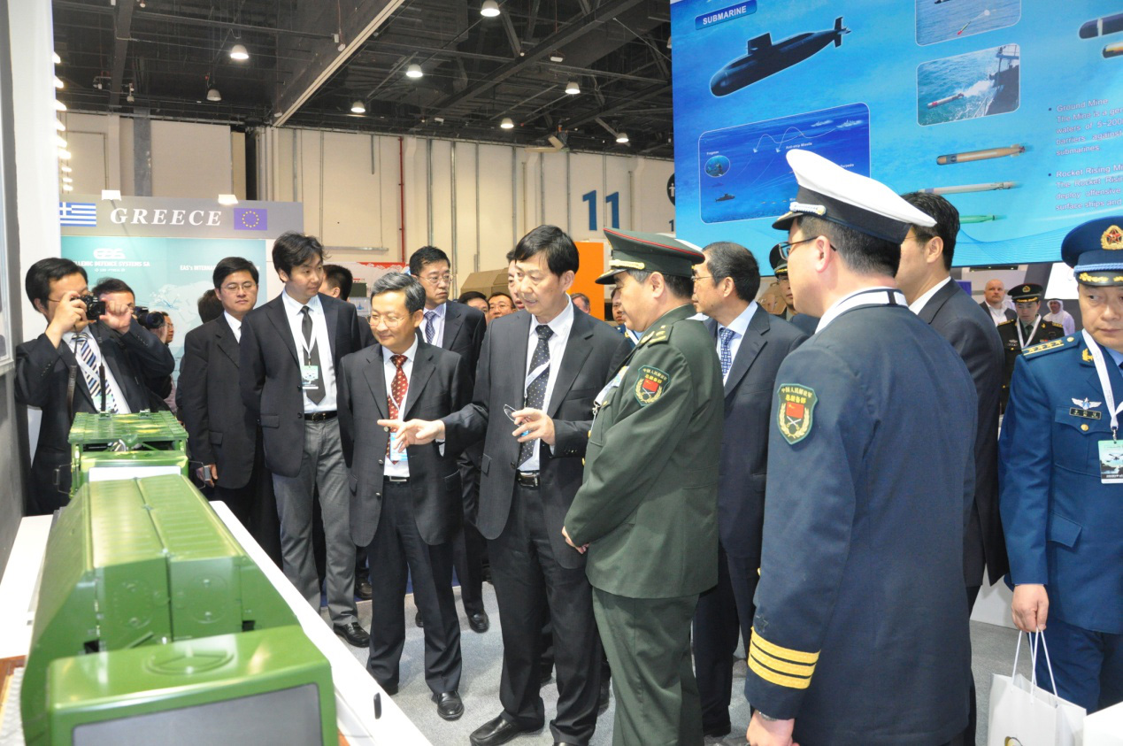 Company's Products Showed in 11th Abu Dhabi International Defense Exhibition