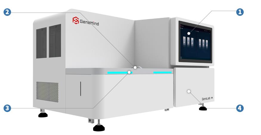 高通量基因测序平台 GenoLab M