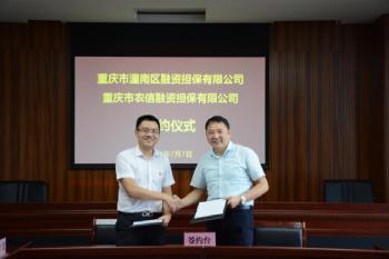 农信担保公司与潼南担保公司达成战略合作